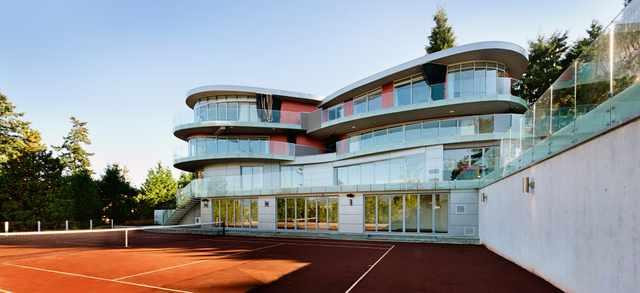 Vancouver residence with tennis court.